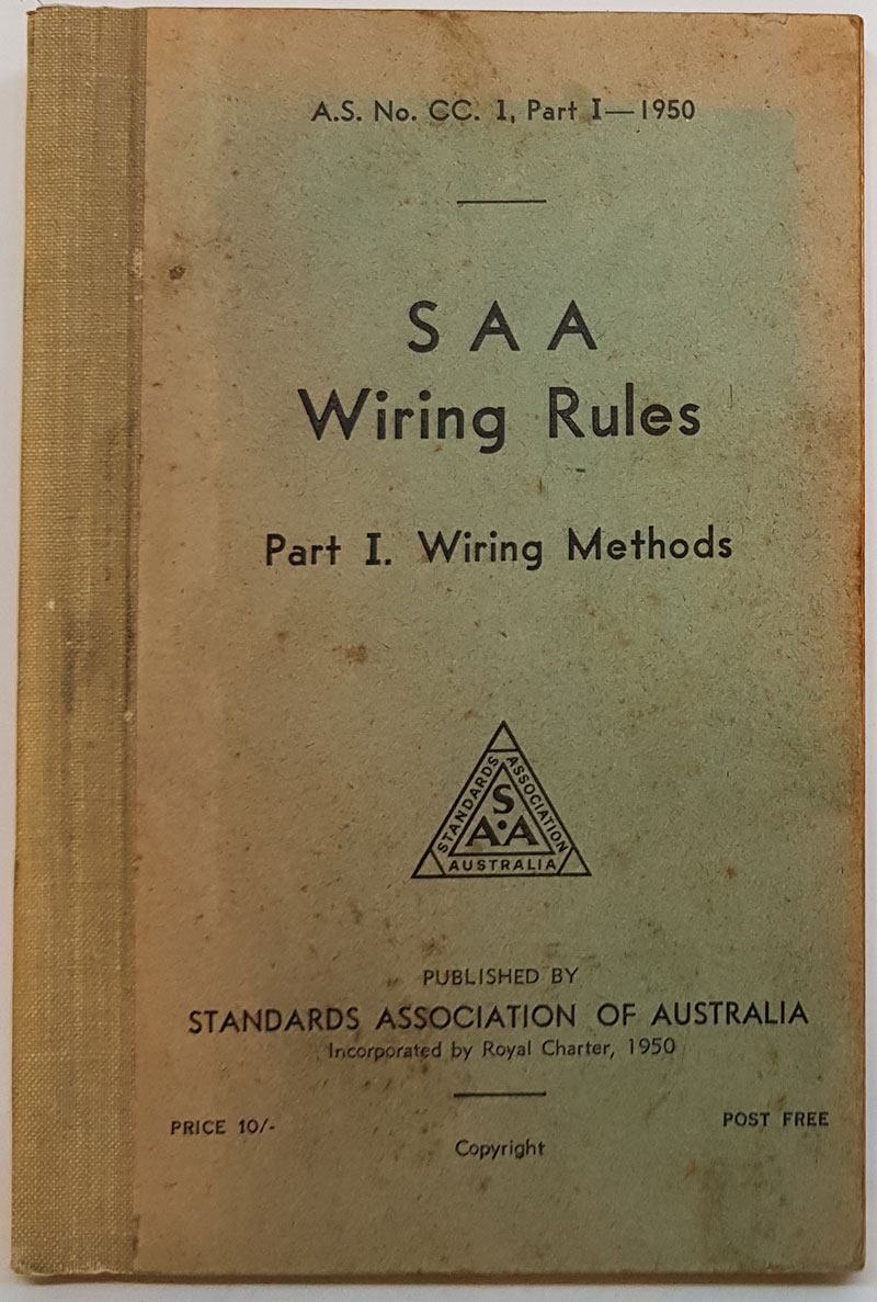 Incredible The Book Merchant Jenkins Australian Standard Rules For Electrical Wiring 101 Capemaxxcnl